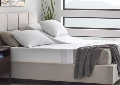 Silver Adjustable Bed Sleep System